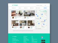 Tranqui WebApp acamica prototype roommate uxui ux