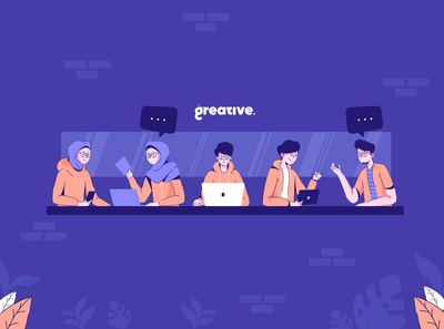 Greative Team Illustration