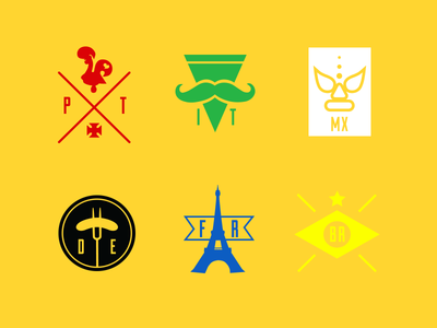 In-Game Countries Logo Emblems