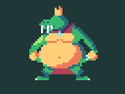 King K Rool Pixel Art!