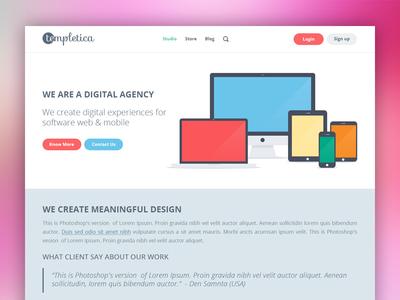 Templetica Website