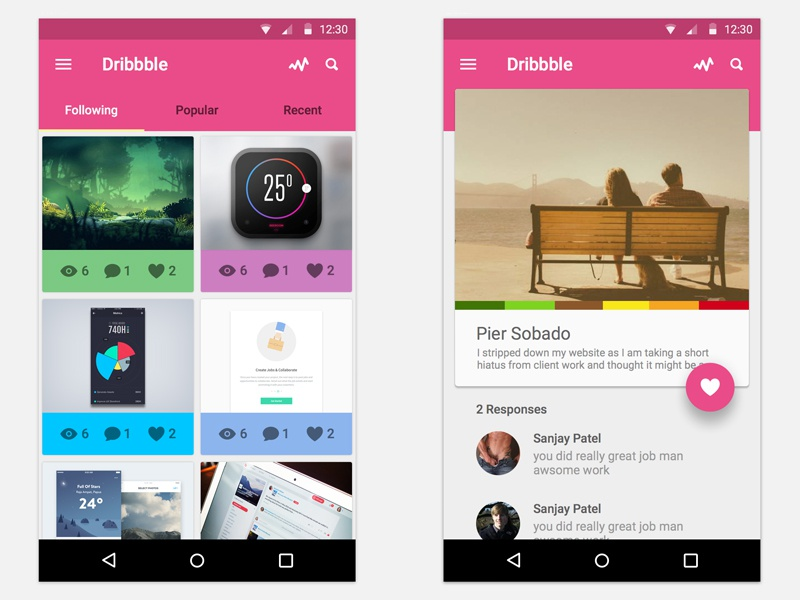 Dribbble dribbble lollipop ux ui