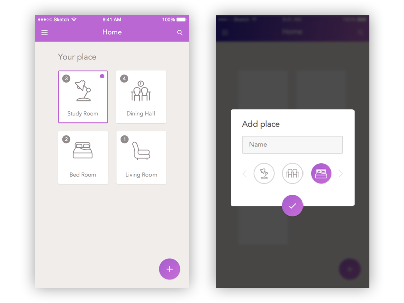 home automation photo mobile iphone ios app chat ux ui