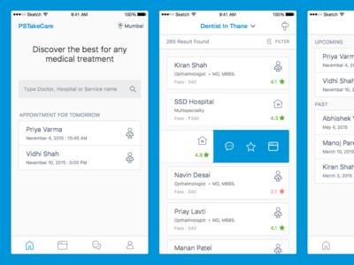 Healthcare iOS App