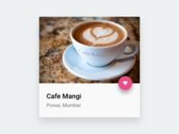 Cafe Mangi Card
