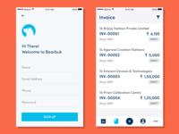 Bearbuk App UI
