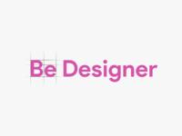Be Designer Logo