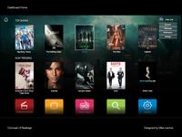 Comcast ReDesign UI: Dashboard