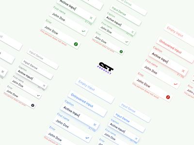 React UI kit - Raised text fields design system material ui kit design ui app figma text field input development web reactjs react