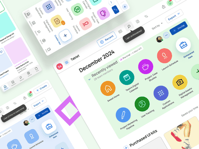 Figma Dashboard templates - Start page UI design android ios desktop mobile web design system templates material ui kit design ui app figma start home dashboard