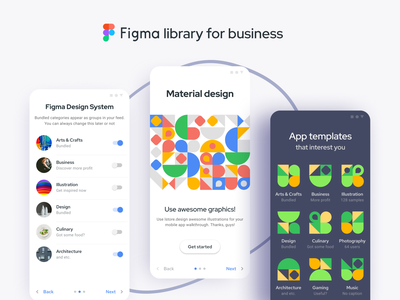 Figma templates — Material Design UI kit webdev template dashboard desktop admin android mobile web design system templates material ui kit design ui app figma