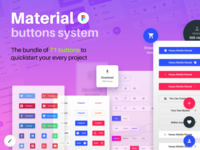 Figma material buttons template
