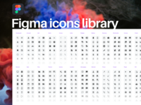 Figma icons library