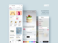 Ecommerce Android app templates