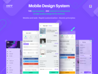 Mobile Design System. Rethinked colors!