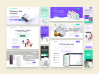 Figma landing web pages builder