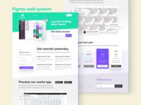 Figma web sites templates