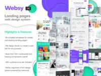 Figma Web Design System was released → Meet Websy!