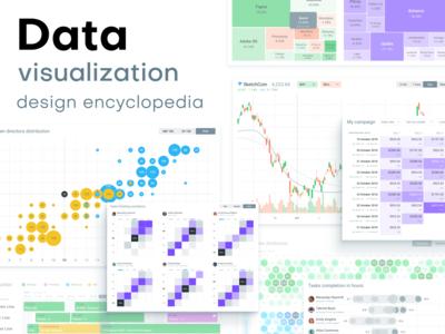 Charts Design Inspiration. Dataviz encyclopedia
