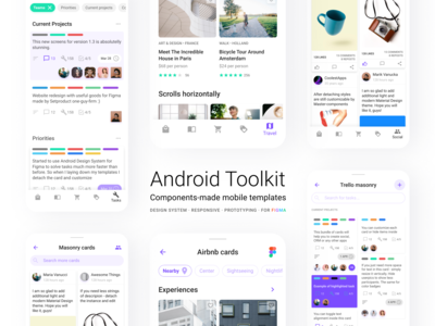 roman kamushken projects mobile design system release android