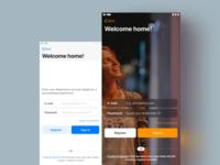 IOS App Templates · Login Screen