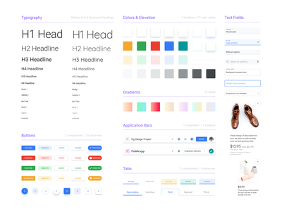 Free Figma Design System Starter Template template dashboard styles button colors styleguides style guide templates ui kit figma freebbble freebie team library design system desktop material design
