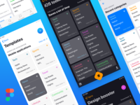 iOS layouts customization within Figma global styles