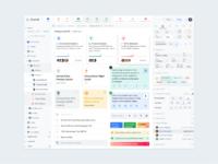 Desktop software ui web template light