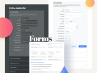 Forms And Inputs For Web Design
