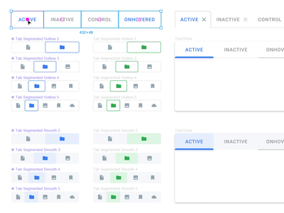 Material Design Components from the Nearest Future!
