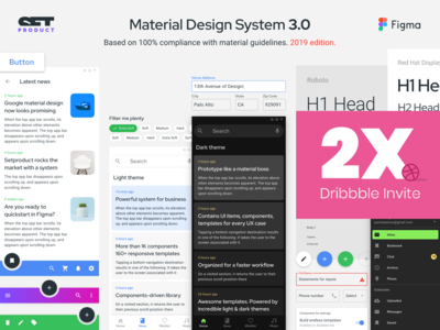 Figma Material Design System 3