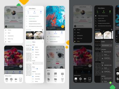 Bottom Sheets UI - Material design Figma