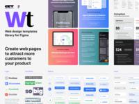 Figma web UI kit