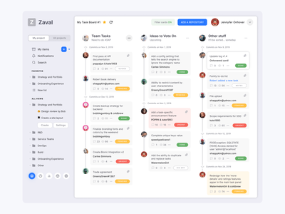 Figma kanban template for project management app min ux ui figma dashboard tabs accordion expand tree navigation management project cards kanban