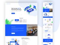 Digital Agency // Landing Page Template