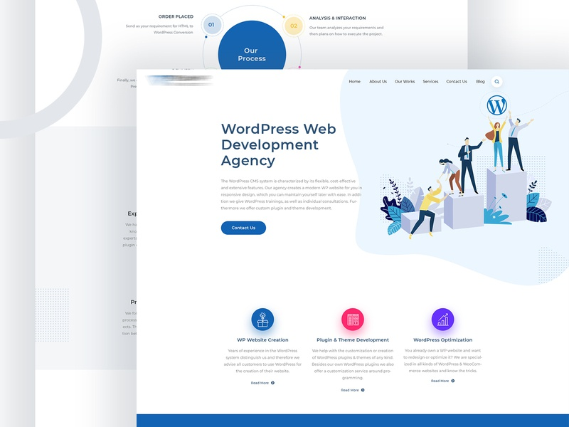 Web Development Agency trend slider uidesign development webdesign weblayout layout ux uikit ui xd psd