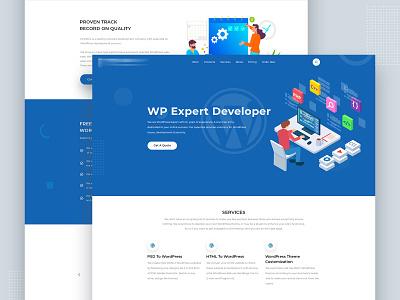 Landing Page UI Explore uiconcept illustration art mark vr product digitalmarketing marketing analytics value premium uxdesign psd weblayout webdesign layout onepage landingpage uiux ui