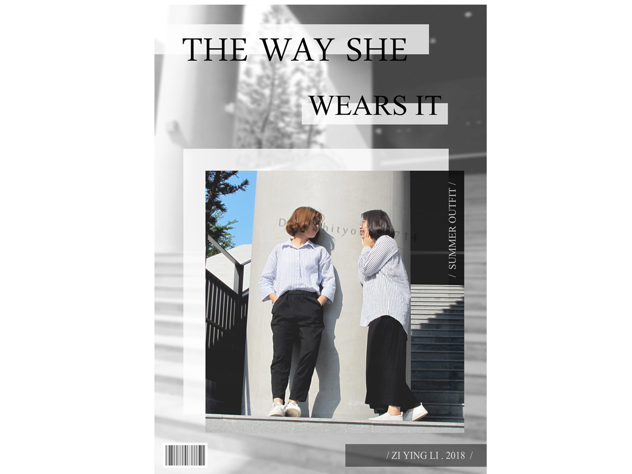 The way magazine photoshop