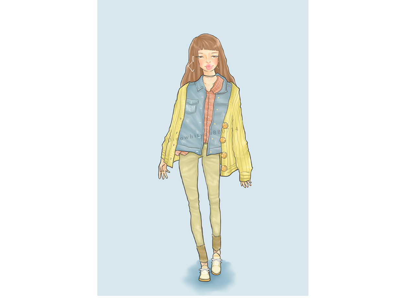 outfit sai illustration
