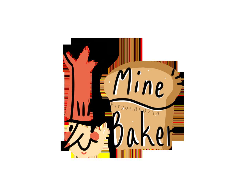 Mine Baker logo sai illustration photoshop
