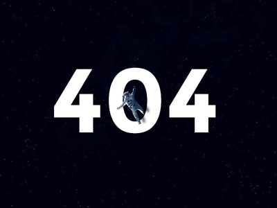 Lost in space - 404 page spaceman stars space 404
