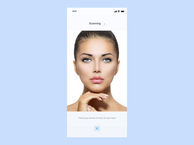 Skincare App Animation