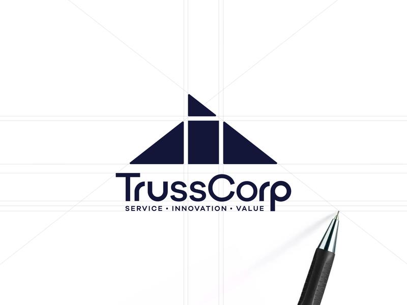 TrussCorp Logo Design Process