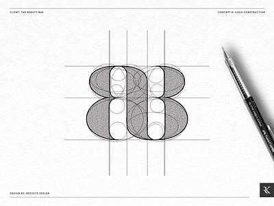 Beauty Logo Grid Concept A design logodesign logo branding design branding brand identity designer brand identity design brand identity