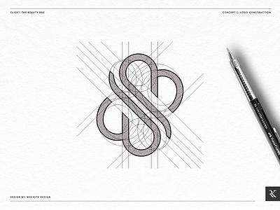 Beauty Logo Grid Concept C design logodesign logo branding design branding brand identity designer brand identity design brand identity