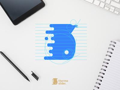 Thermo Slider Logo Process logos logo design logodesign logo design branding design branding brand identity designer brand identity design brand identity