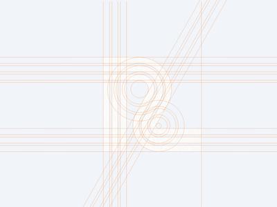 'R' Lettermark Logo Process