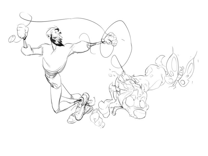 walking minimal flat web website icon animation illustrator illustration design art