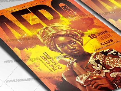 Afro Caribbean Flyer Designs, Themes, Templates And Downloadable