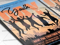 Youth Day Event Flyer - PSD Template